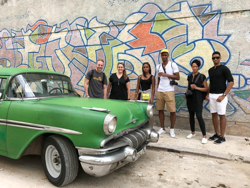 Wandering the streets of Old Havana Cuba