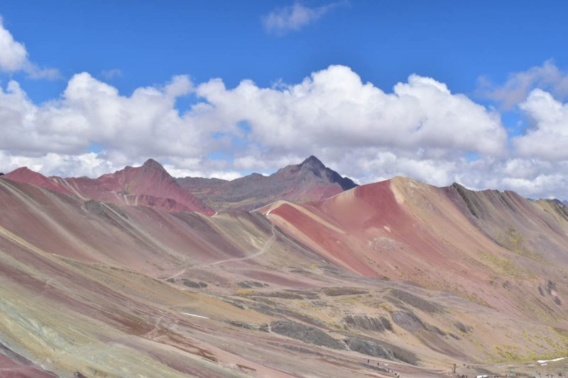 Landscape of the Rainbow Mountain Peru
