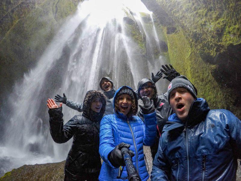 Secret waterfall selfie