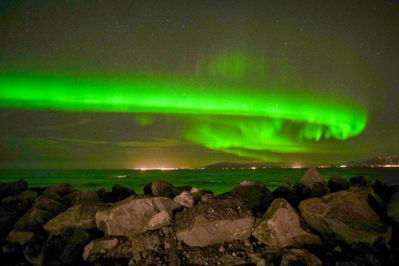Northern Lights swirl