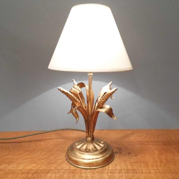Gilt Table Lamp