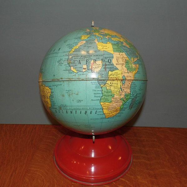 1950s Tinplate Globe