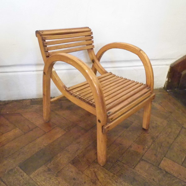 Art Deco Childs Chair