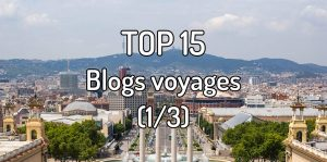 Top 15 blogs voyages