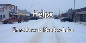 Helpx en route vers Meadow Lake