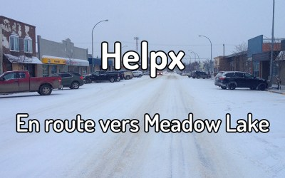 Helpx – En route vers Meadow Lake