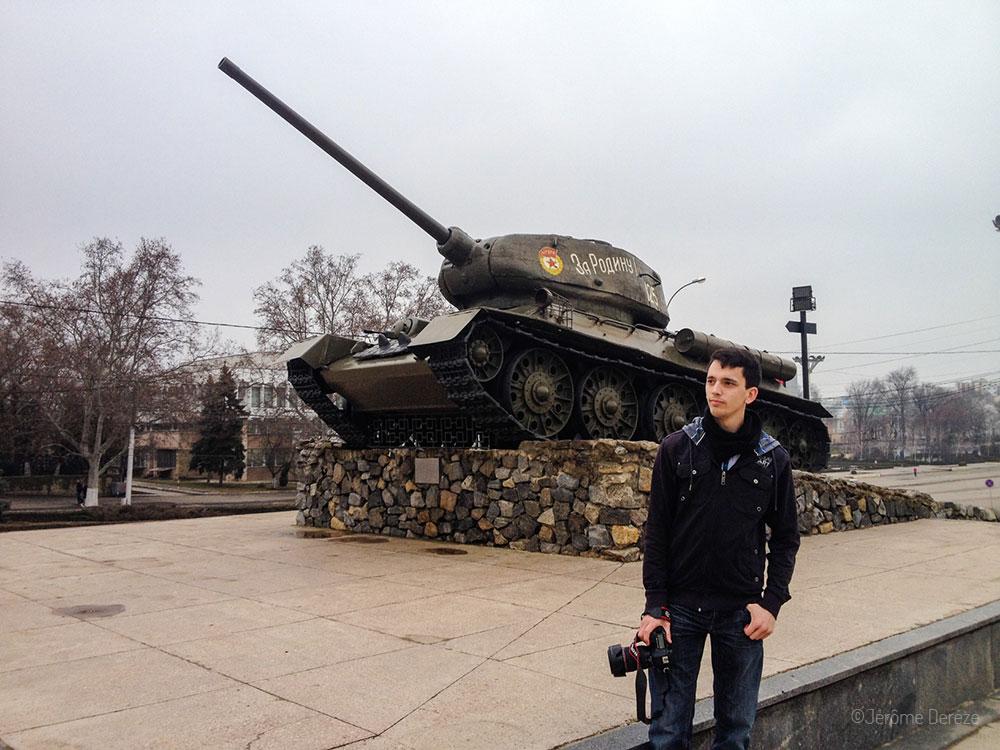 Tiraspol en Transnistrie