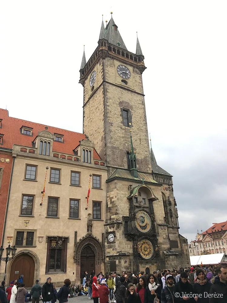 Lieux à visiter à Prague - L'horloge astronomique