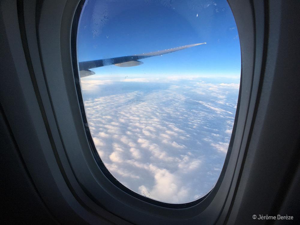 Voler avec Air Canada et admirer la vue
