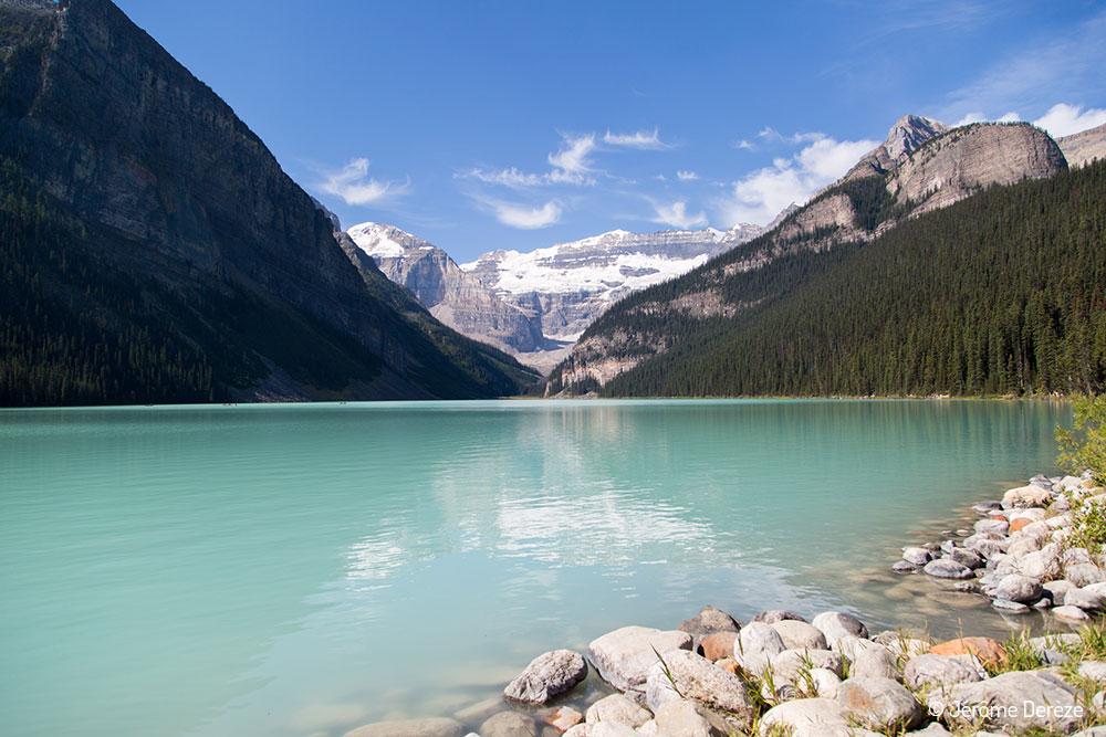 voyager au parc national de Banff - Lac Louise