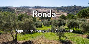 Apprendre l'espagnol à Ronda en Andalousie