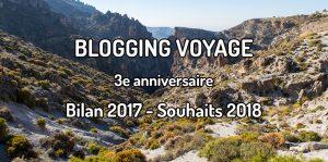 3 années de blogging voyage pour le blog voyage Traversée d'un monde