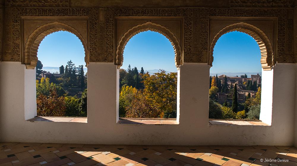 Conseils pratiques pour visiter Alhambra - Profiter de la vue