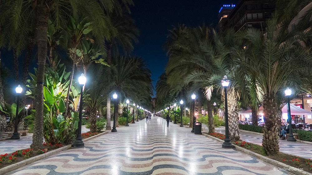 Que faire à Alicante ? Esplanade de l'Espagne d'Alicante