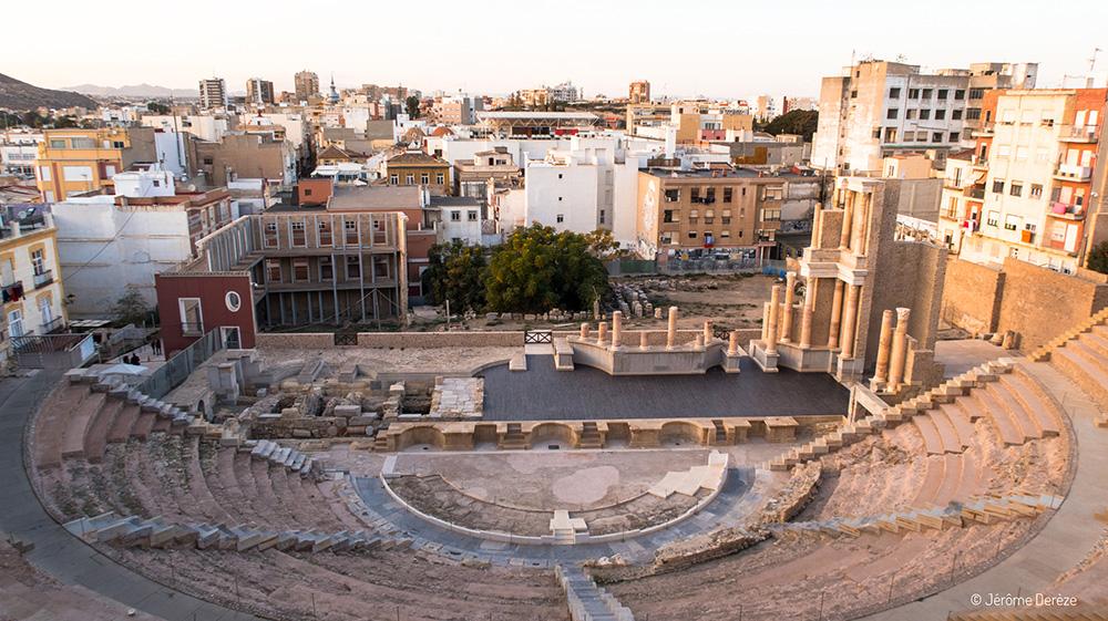 Que visiter à Carthagène ? Théâtre romain