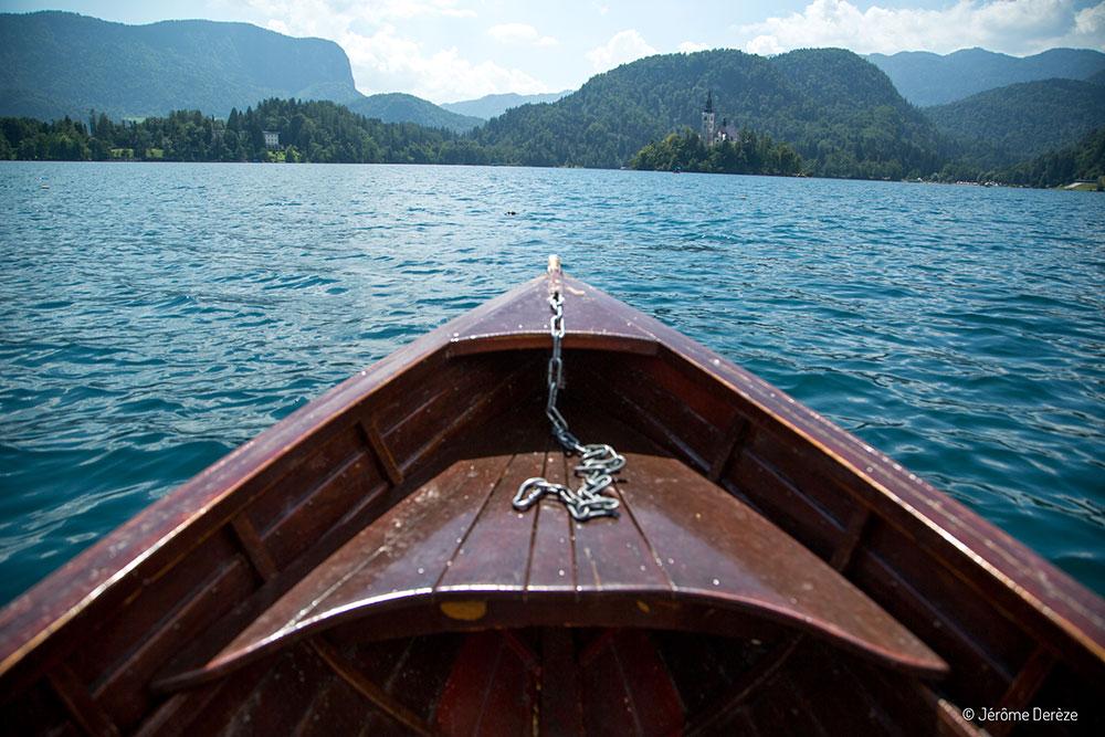 Visiter Bled - Aller en barque sur l'île de Bled