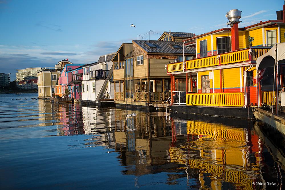 Visiter Île de Vancouver - Village des pêcheurs à Victoria