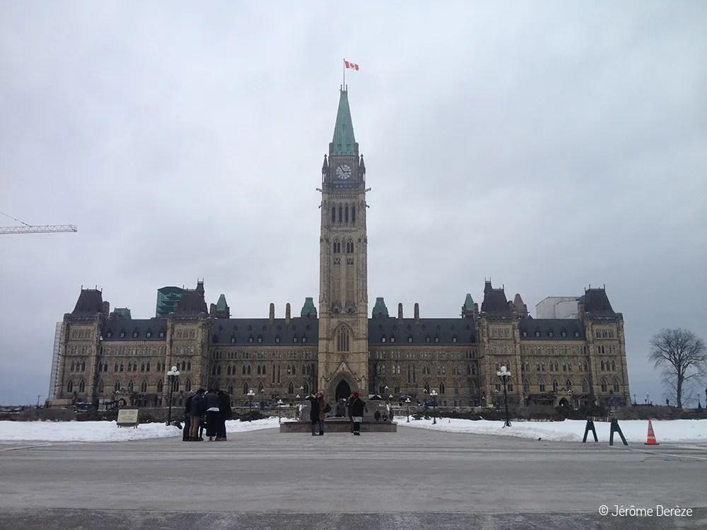 Visiter Ottawa - Le parlement d'Ottawa