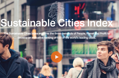Sustainable Cities Index 2016 published by Arcadis