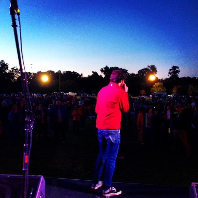 Harvestfest 2014. Great night. Love watching Jesus transform people!