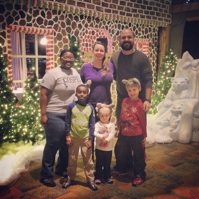 Surprise family trip to the Great Wolf Lodge was quite the hit! I adore my family!