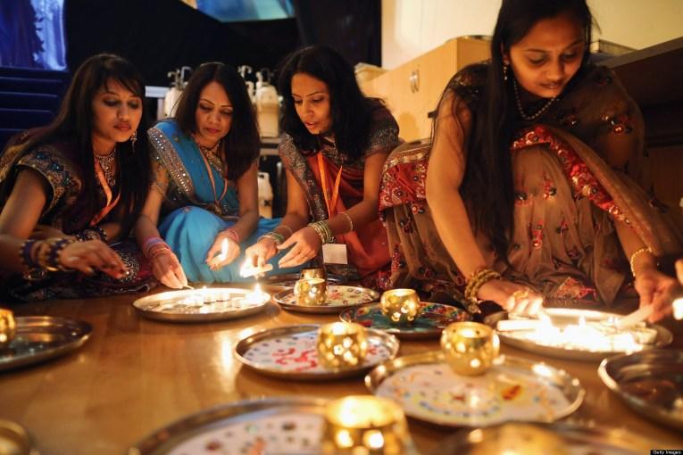 Diwali And Annakut Are Celebrated At The BAPS Shri Swaminarayan Mandir In Neasden