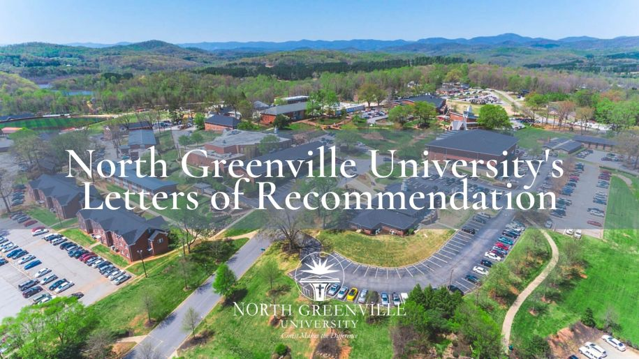North Greenville University's Letters of Recommendation