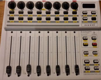 The BCF2000 by Behringer