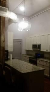 Kitchen in One Bedroom Loft