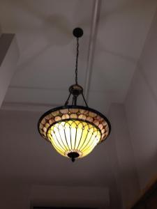 Chandelier in Hallway
