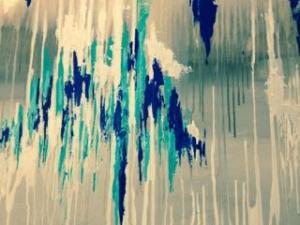 Sarah Tinsley Parker Rain III Acrylic on Canvas 30x40