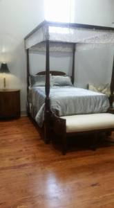 Queen Bed in Two Bedroom Loft