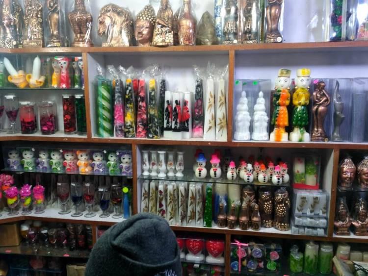 Candle Shop at Nainital Mall Road