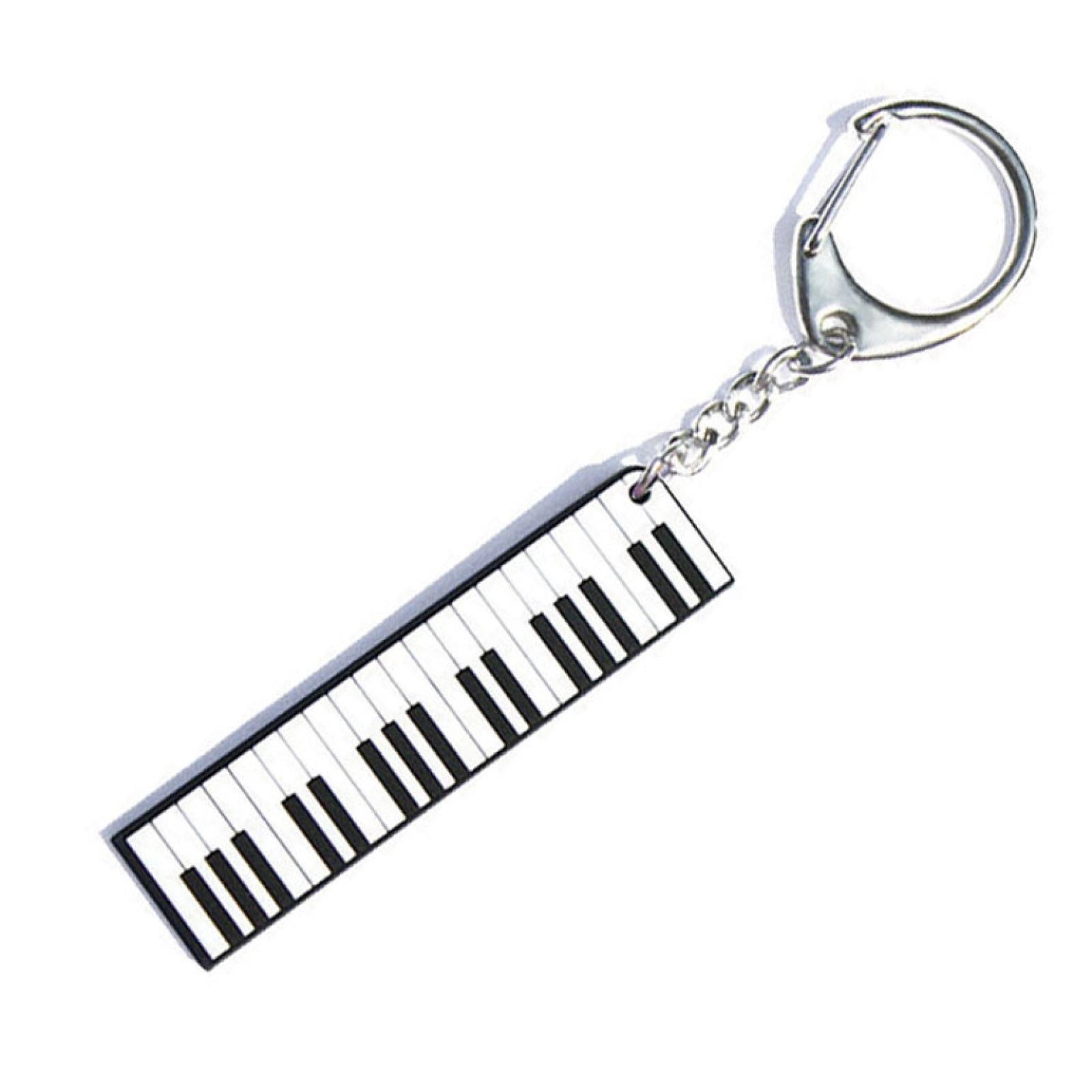 Hot House Pvc Piano Keyring
