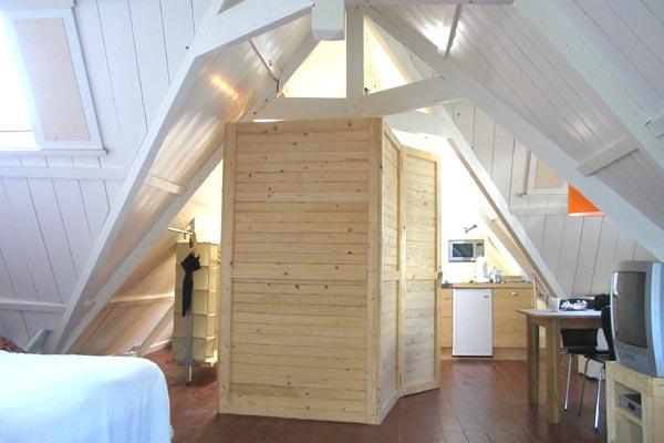 guestroom zolder Schiemanstraat
