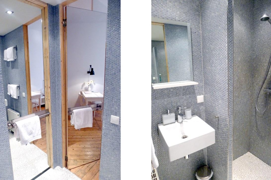 badkamer guestroom Wilhelminastraat