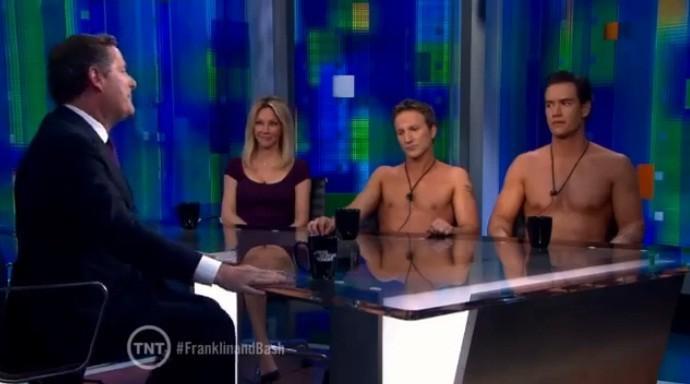 Mark Paul Gosselaar Breckin Meyer Get Naked For Heather