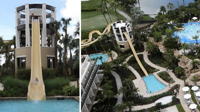 Orlando World Center Marriott Adds Three New Water Slides