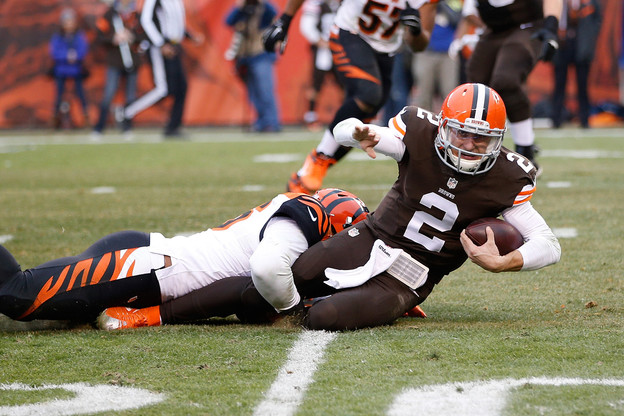 Bengals Shut Out Browns In Johnny Manziels Starting Debut