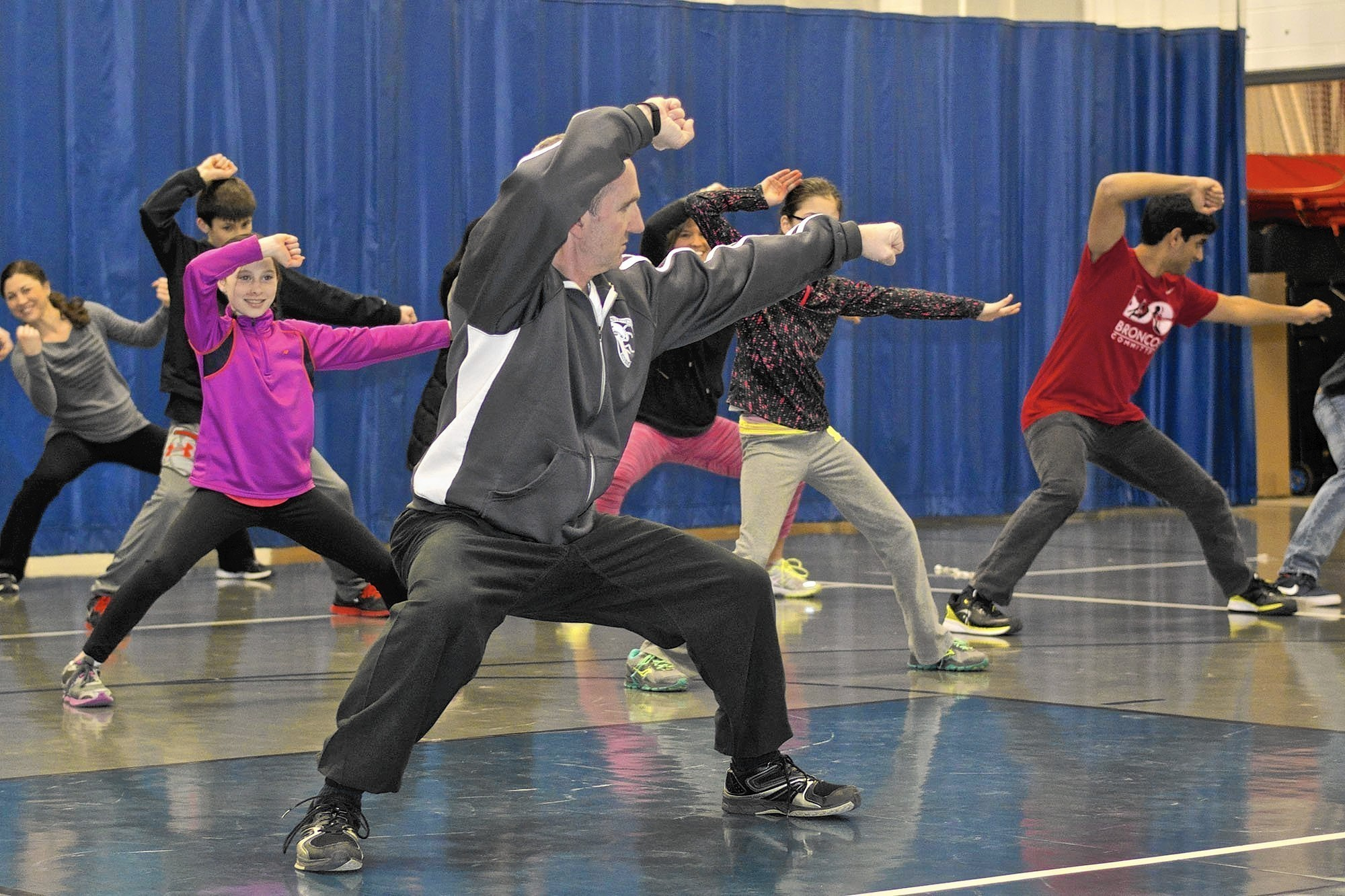 Barrington Families Learn About Teamwork Nutrition At