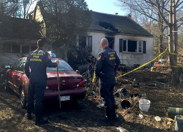 Plumsteadville Man Dead In Cluttered House Fire The