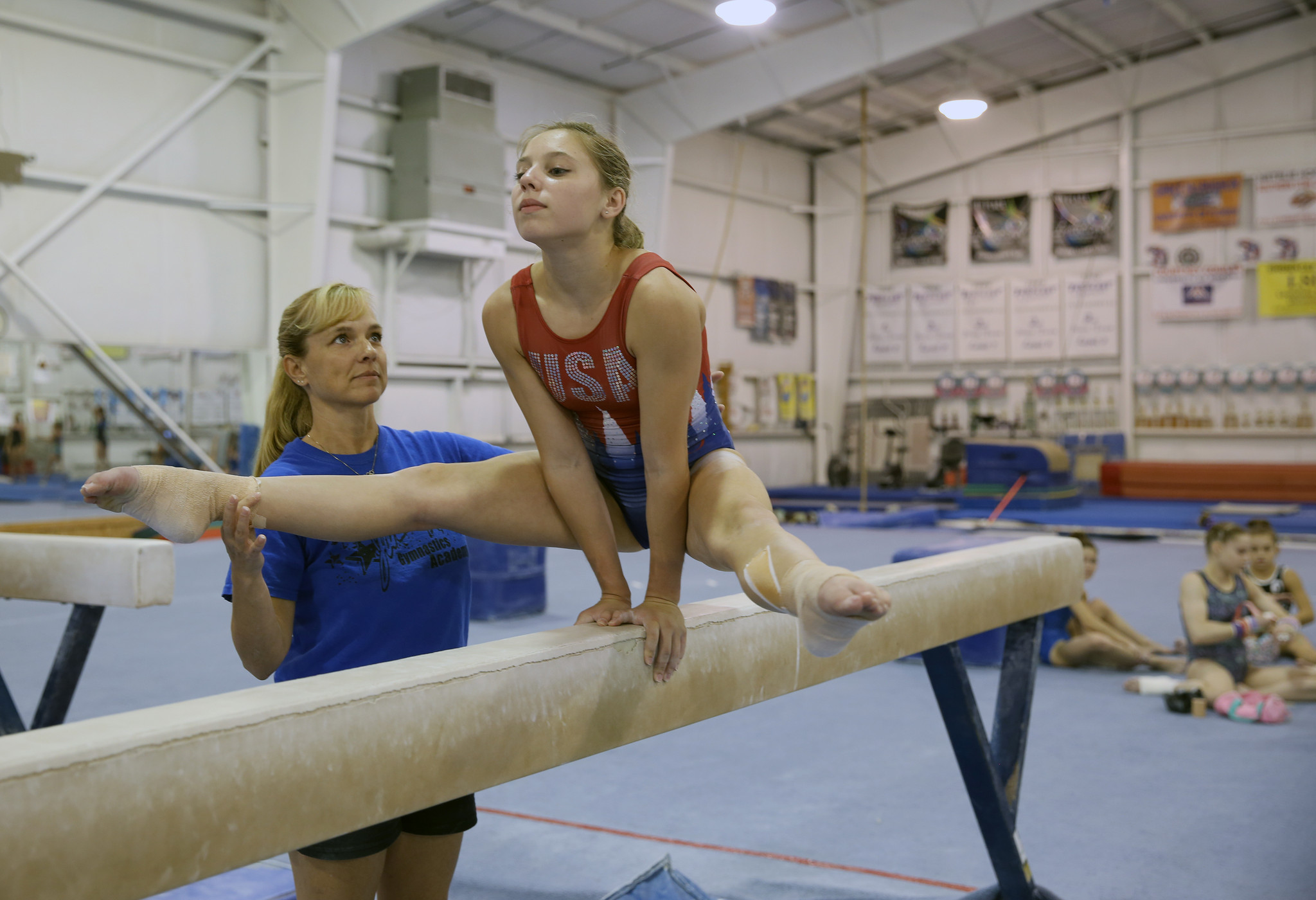 Former Olympian Brandy Johnson Coaches Daughter In Olympic