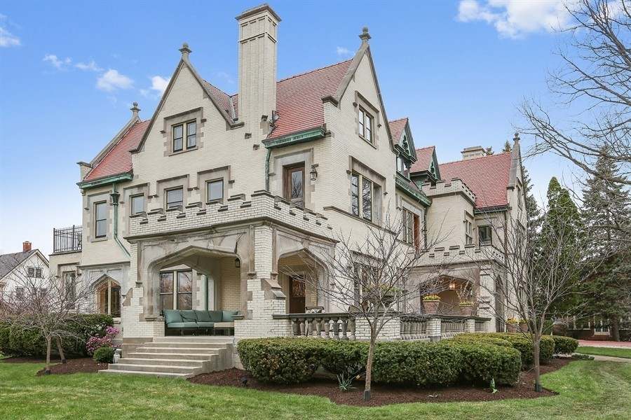 Restored Tudor Revival Mansion Hits Market In Oak Park For