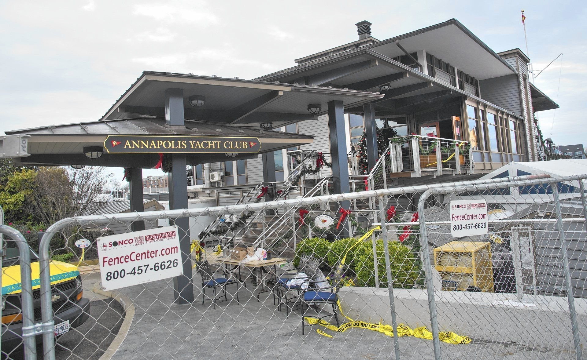 Annapolis Yacht Club To Restore Fire Ravaged Building
