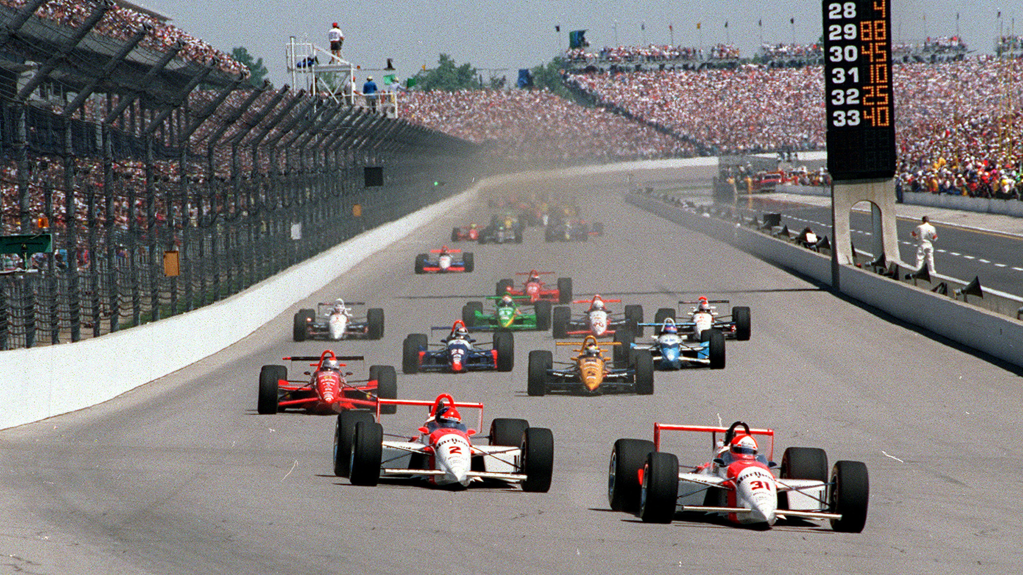 The Start Of The Indianapolis 500 Is Unique Thrilling And