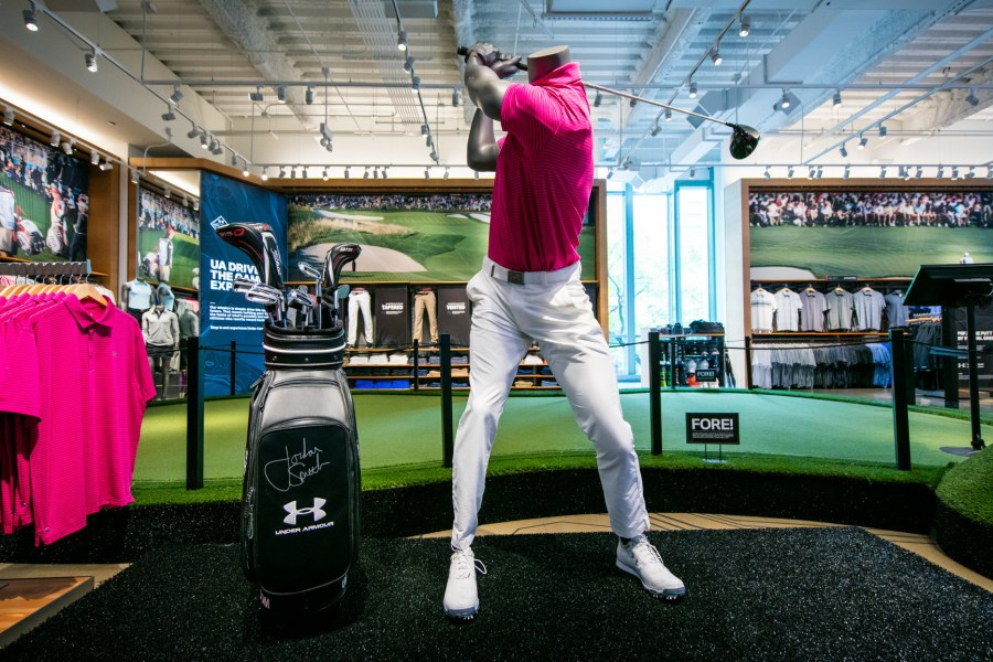 Under Armour opens  immersive  golf experience in Chicago     Under Armour opens  immersive  golf experience in Chicago   Baltimore Sun