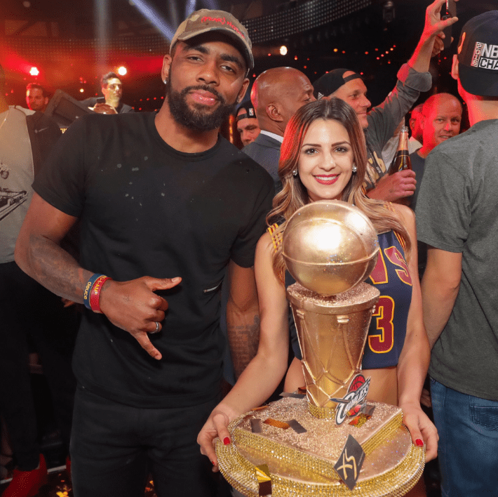 Cavs Stop For Victory Party In Las Vegas On Way Home