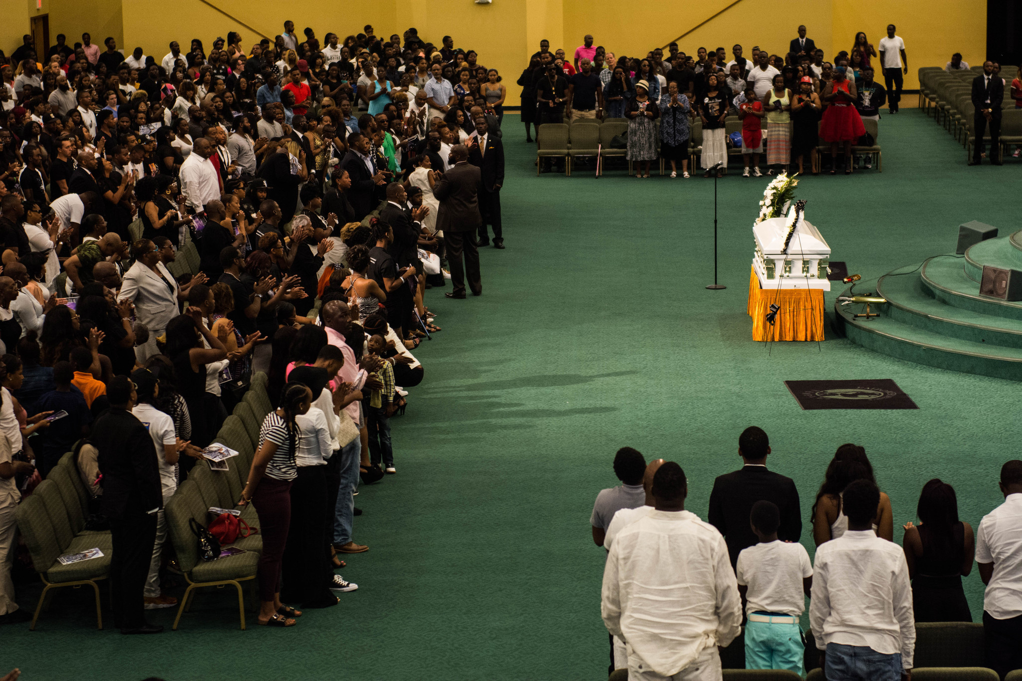 Hundreds Attend Funeral For Hood Poet Lor Scoota