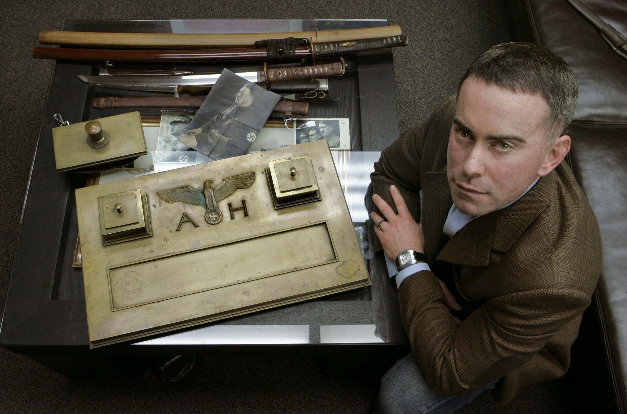 History Buffs Could Ink Deal For Hitlers Desk Set The
