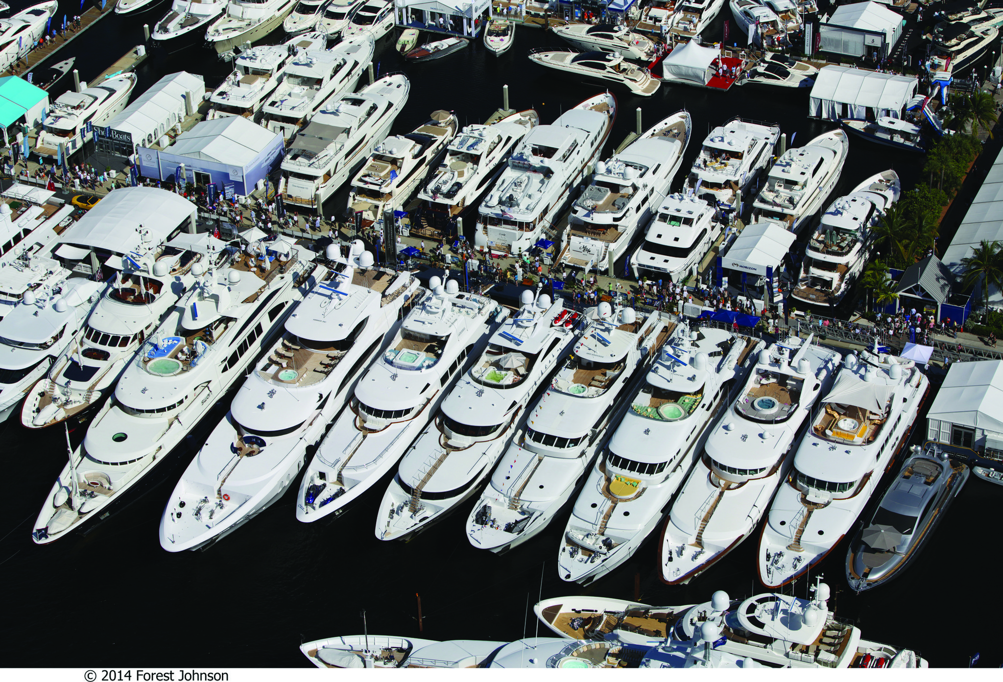 History Of The Fort Lauderdale International Boat Show Sun Sentinel